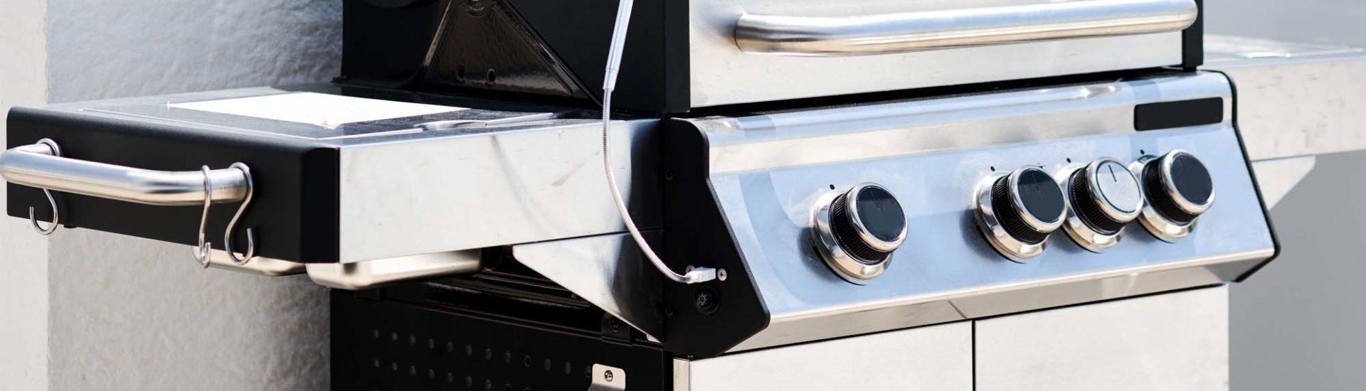 Edelstahl Gasgrill - Robust, elegant und korrosionsbeständig